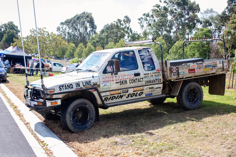 A Beaut Ute at the Korumburra Country Show