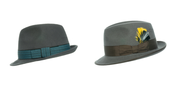 Akubra Trilby and Hampton